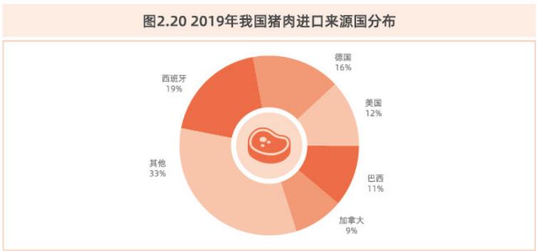 2019年我国猪肉进口来源国分布.png